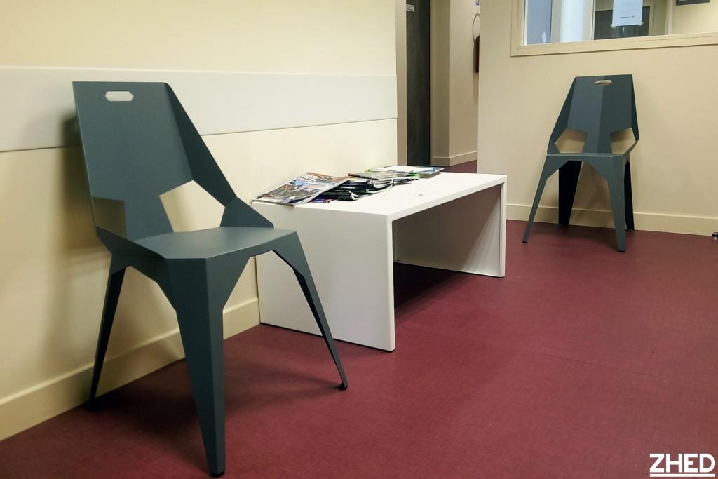 am nagement sur mesure de salles d 39 attente zhed. Black Bedroom Furniture Sets. Home Design Ideas