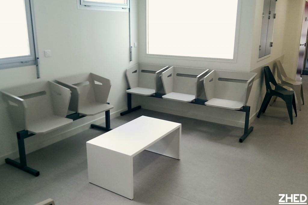 Am nagement sur mesure de salles d 39 attente zhed for Mesure d une chaise